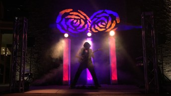Accentuated Stage Lighting with Haze & Additional Lighting