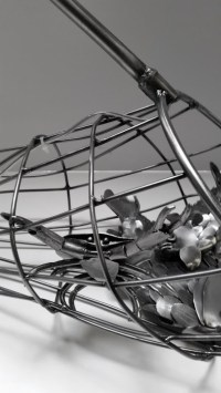 Fish Net Lamp Sculpture SOLD
