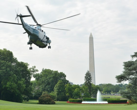 Marine One Departure