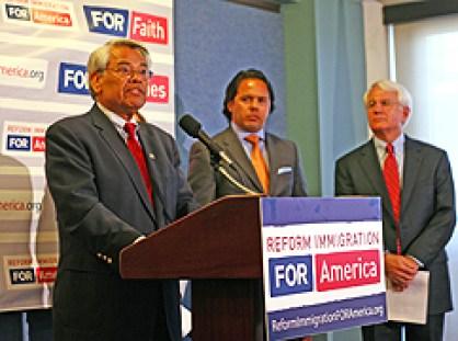 """Eliseo Medina speaking on """"immigration reform"""""""