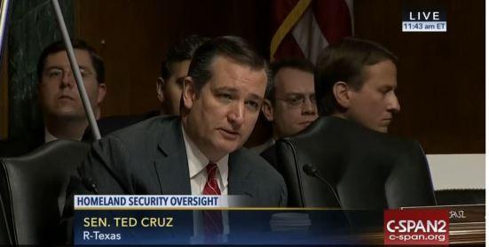 Ted Cruz vs. Jeh Johnson