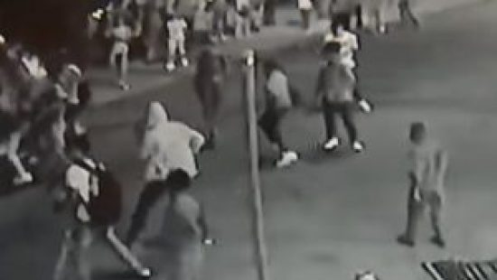 Still photograph of Temple university attack