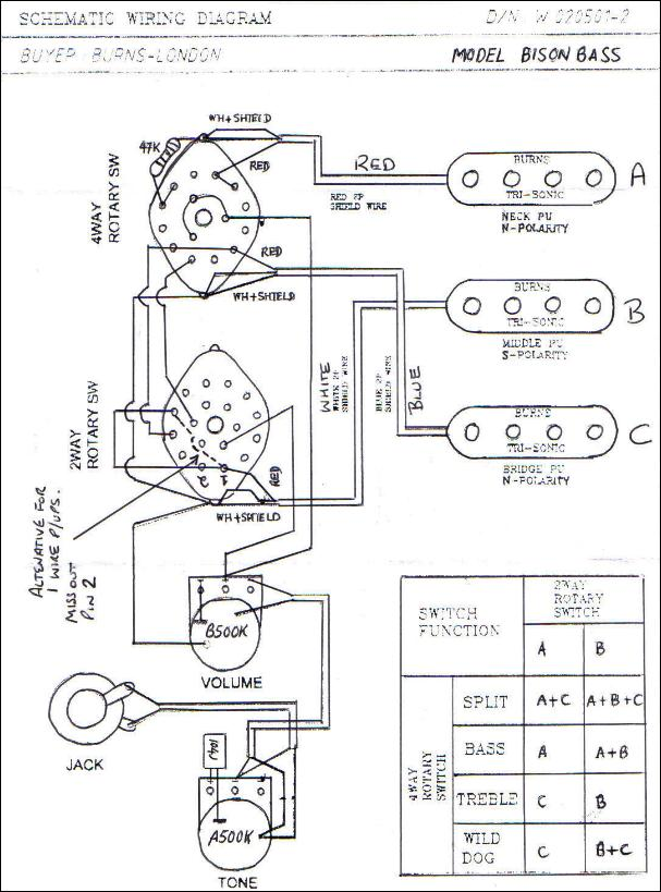 Burns Guitar Wiring Diagram Comprandofacil Co