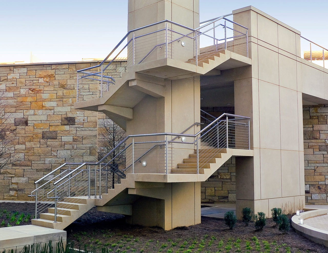 Casino Commercial Cable Railings Trex Commercial Products | Stainless Steel Outdoor Stair Railings | Horizontal | Balcony 4X10 | Metal | Black | Hand