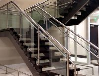 Glass and Metal Railing
