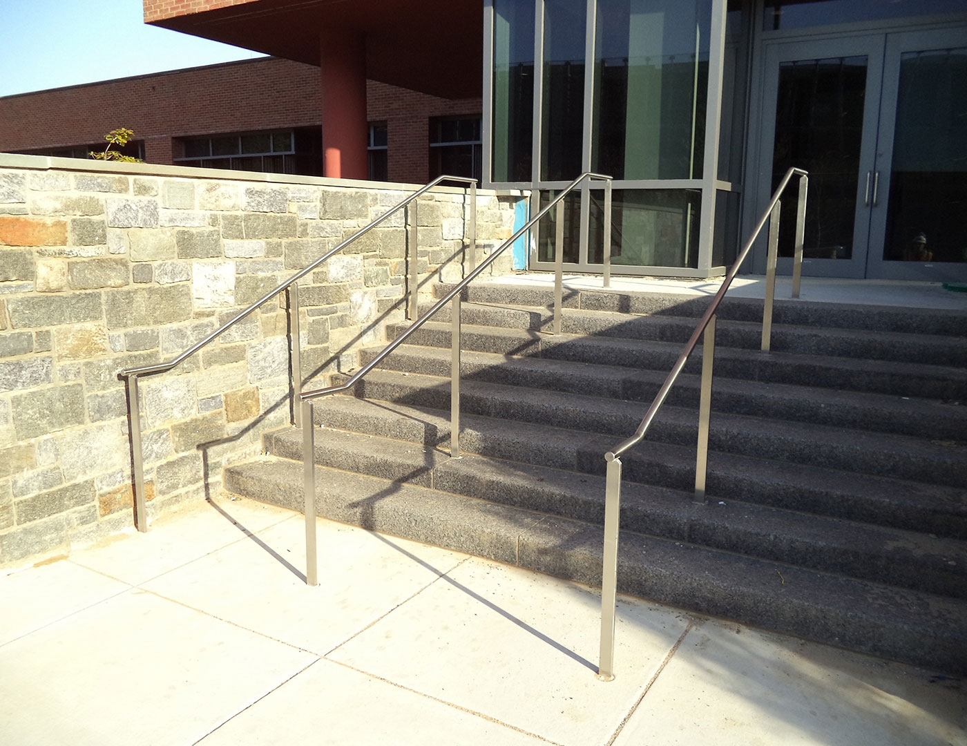 Custom Cable Railing Washington Dc Us Coast Guard Trex   Stainless Steel Handrails Near Me   Glass Railing Systems   Staircase Railing   Stair Railing   Metal   Relaxdays Stainless