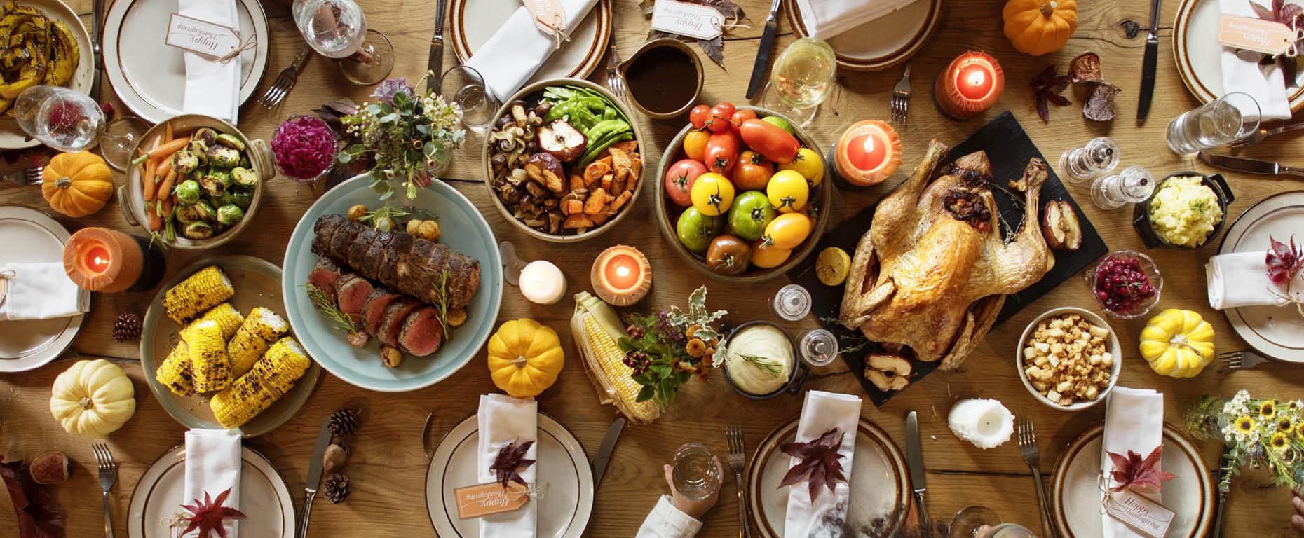 tips for setting thanksgiving