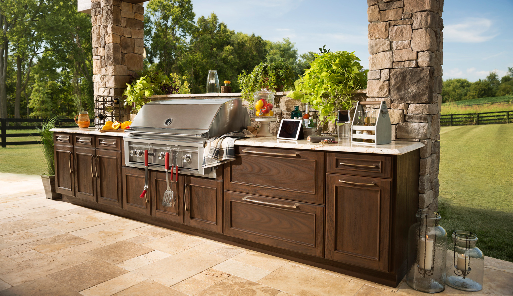 Trex Outdoor Kitchens  Deck Cabinetry and Outdoor