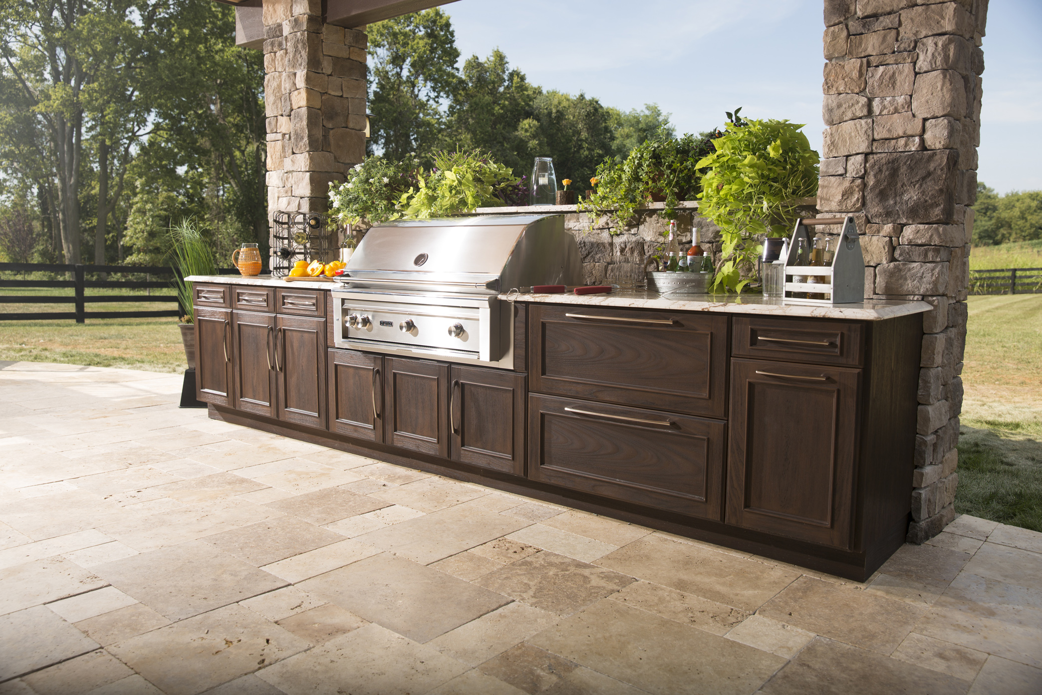 outdoor kitchen drawers table centerpiece kitchens and more  trex