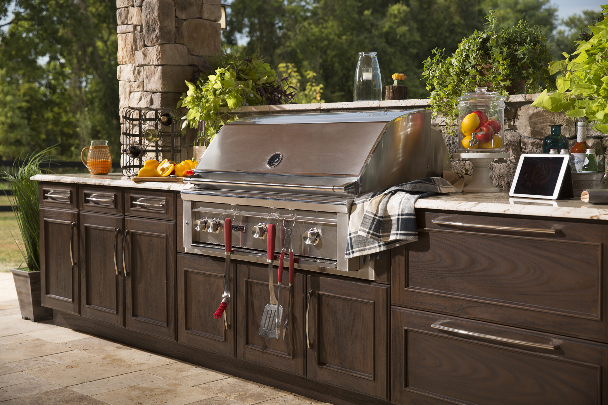 outdoor kitchen storage lowes cabinets in stock kitchens and more  trex