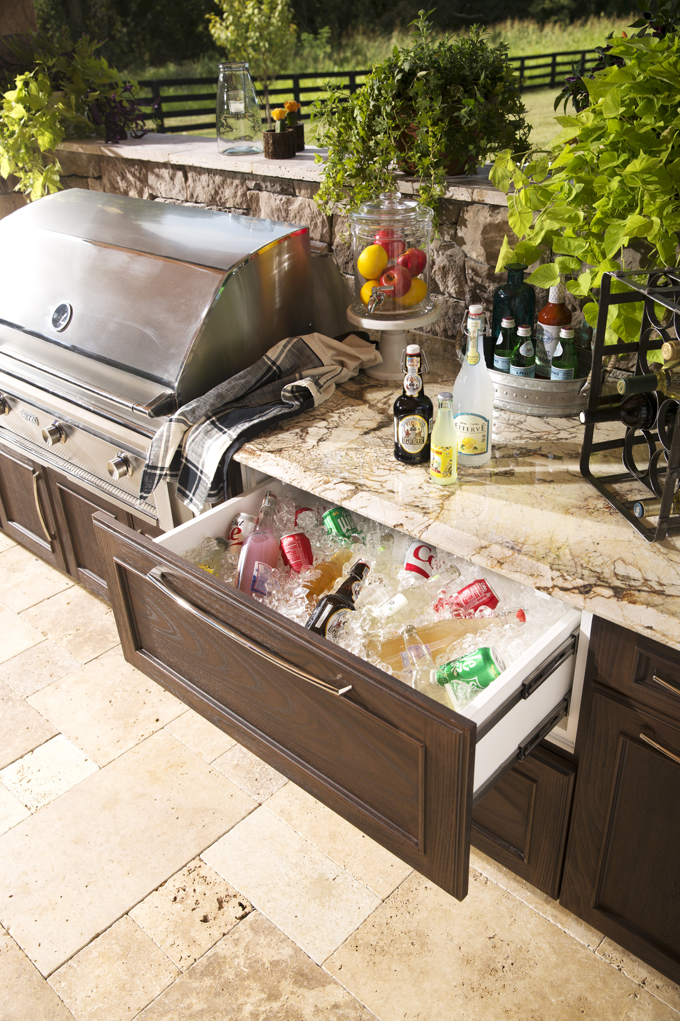 outdoor kitchen storage cabinets michigan kitchens and more  trex