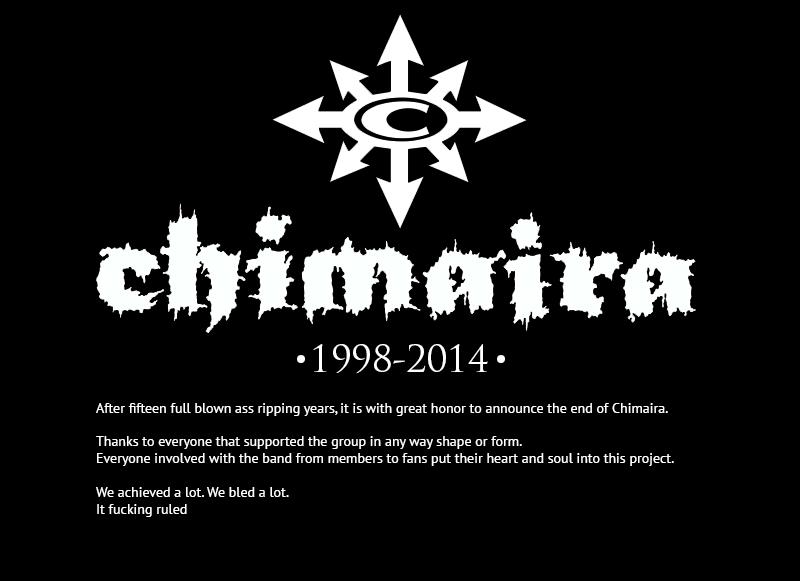 Chimaira-rip