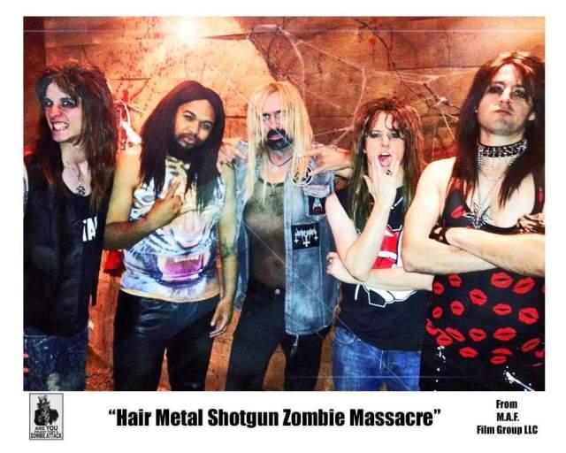 Le Trailer Du Film Hairmetal Shotgun Zombie Massacre Trexsound Com