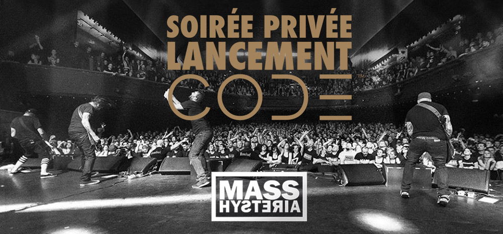 Live Report : MASS HYSTERIA à la Maroquinerie (Marshall Showcase) (Paris)