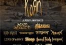 KORN rejoint l'affiche 2017 du ALCATRAZ Festival !