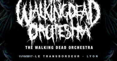 5 nouvelles dates pour THE WALKING DEAD ORCHESTRA