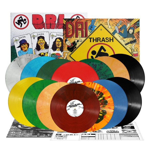 D.R.I : Rééditions des albums «Four of a Kind» & «Thrash Zone»