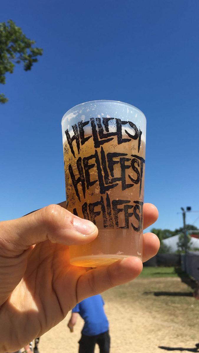 HELLFEST 2018 : 1er débit de boisson en France!