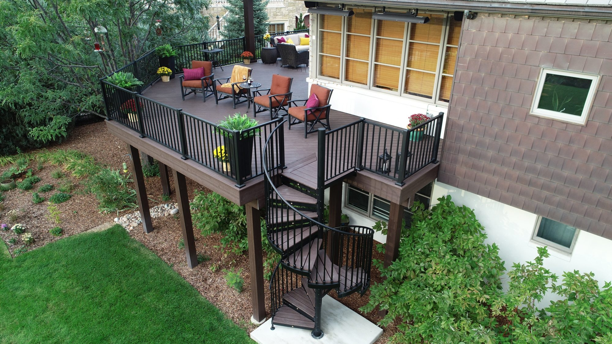 Discover The Ultimate Staircase Alternative Trex Spiral Stairs   Trex Spiral Stairs Cost   Stair Treads   Composite   Stair Case   Steel   Handrail