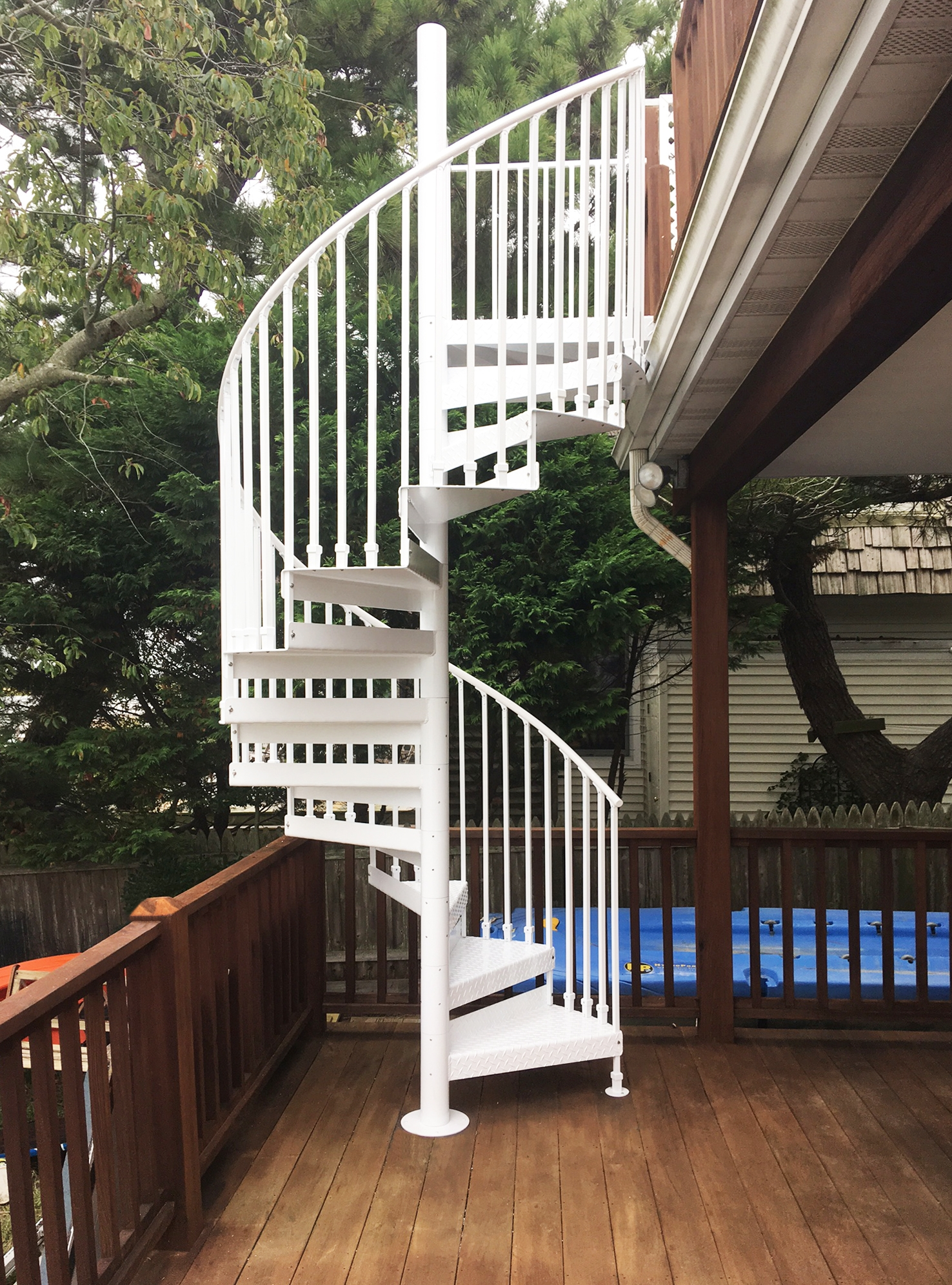 Discover The Ultimate Staircase Alternative Trex Spiral Stairs | Spiral Staircase With Slide | Modern | 1930'S | Interior | Cool | Stainless Steel Spiral