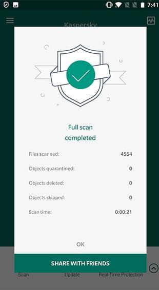 Kapersky Secure Connection interface2 Antivirusni programi