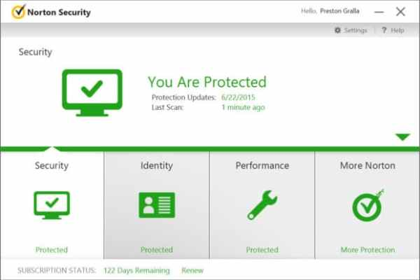 Norton Security interface2 Antivirusni programi