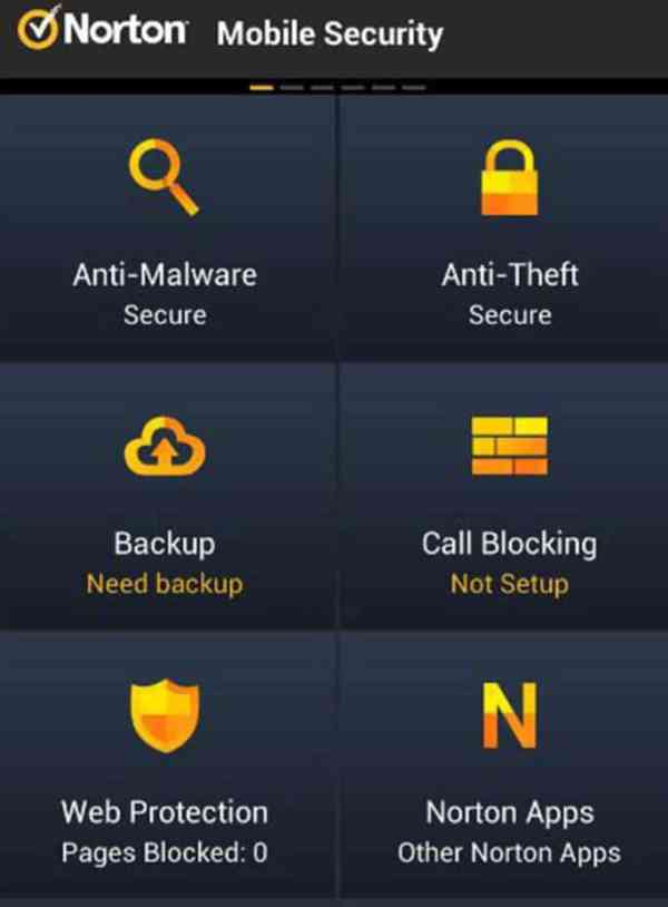 Norton mobile security Antivirusni programi