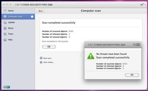 eset cyber security pro interface3 Antivirusni programi