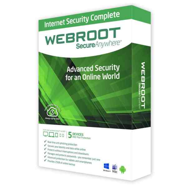 webroot internet security Antivirusni programi