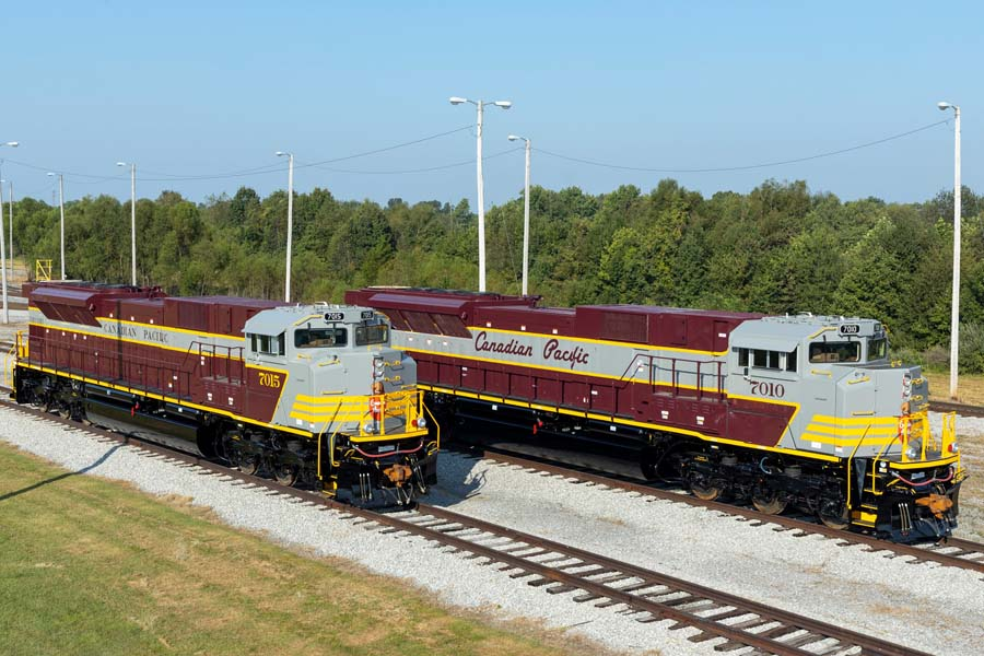 Canadian Pacific Unveils Two New Heritage Units. With More on the Way! – Toronto Railway Historical Association