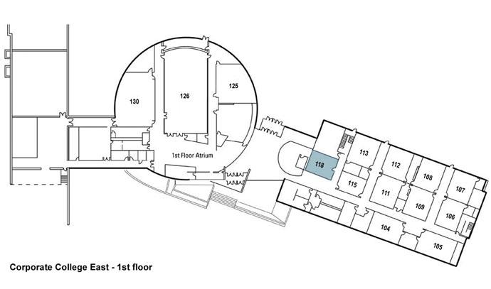Corporate College East Meeting room 118