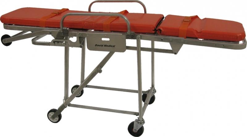 救護車擔架床(可坐式) - 登興工業股份有限公司 (得泰國際醫療集團)