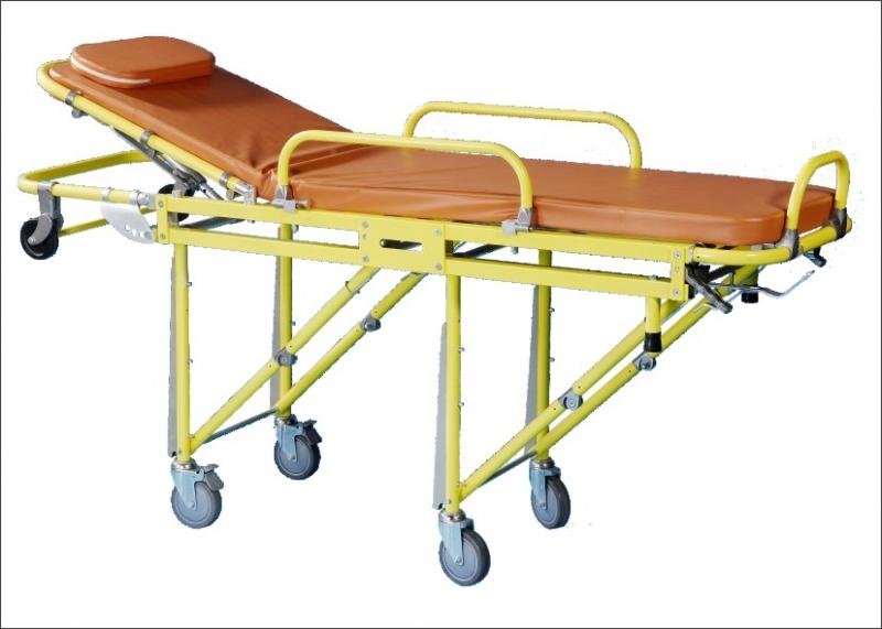 鋁合金救護車擔架床 - 登興工業股份有限公司 (得泰國際醫療集團)
