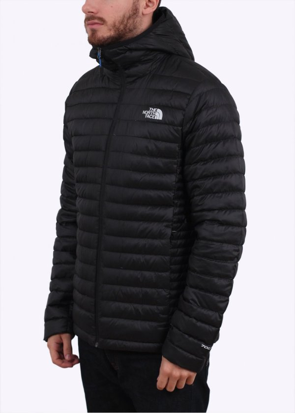 North Face Tonnerro Hooded Jacket - Black