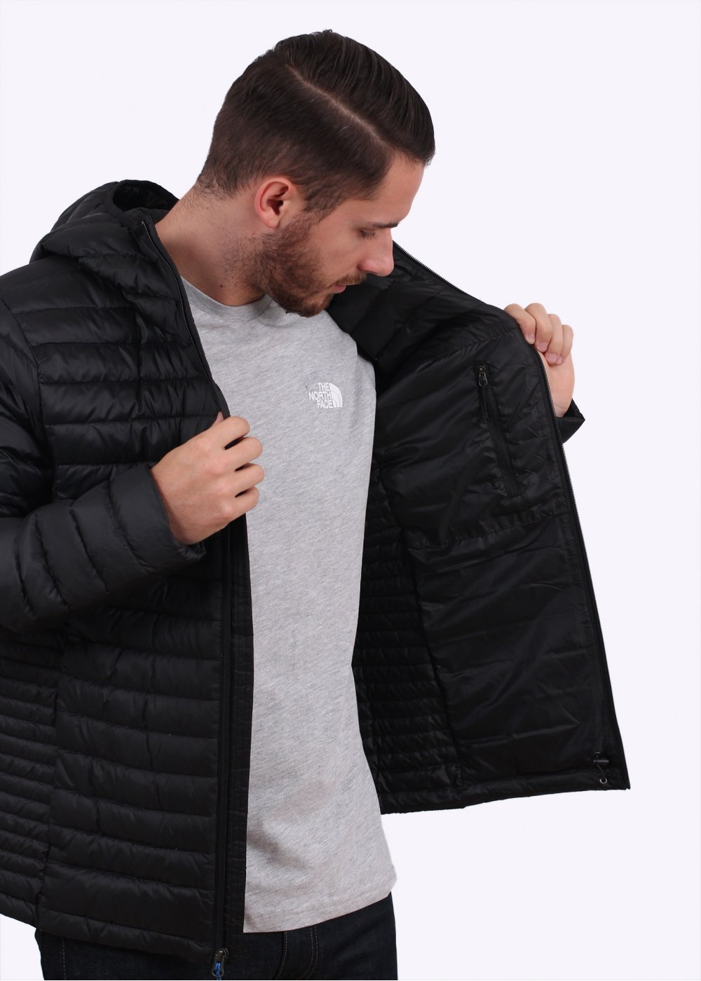 North Face Sweater Jacket