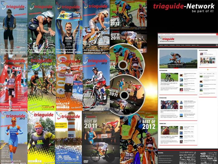 Das triaguide-Network besteht aus Print-, Web- und TV-Produkten.