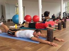 Auch Stabi-Training kam beim Tri-Opening nicht zu kurz - Bild: Angelika Schobesberger