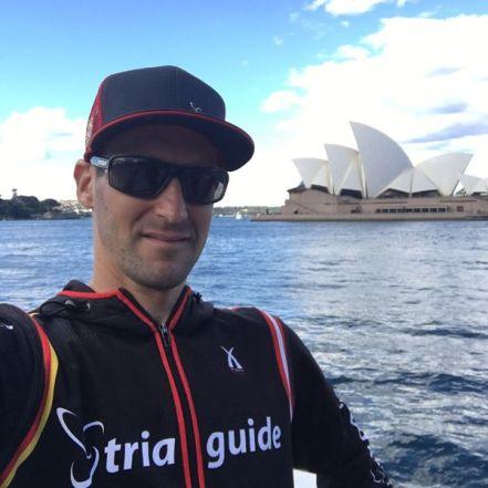 Vor der Oper in Sydney
