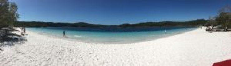 Schwimmen im Lake McKenzie auf Fraser Island - unbeschreiblich