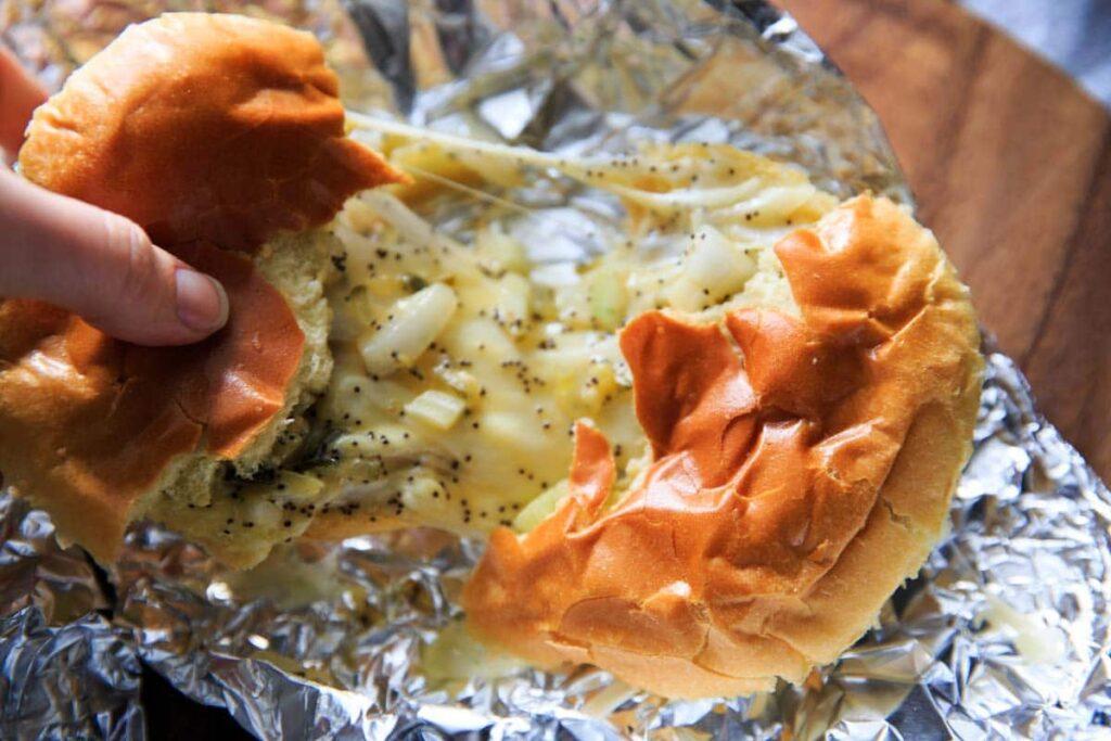 Ham Less Swiss Cheese Hot Sliders Grandmas Recipe
