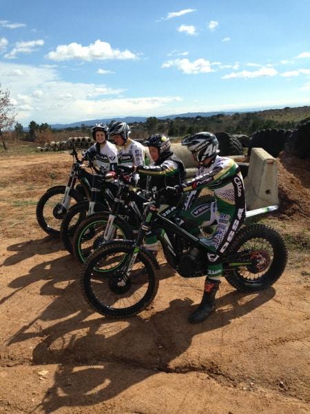 Team Ossa 2013
