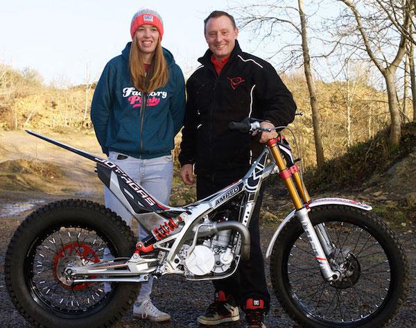 Becky Cook et Steve Saunders