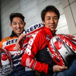 Tomoyuki Owaga (Honda) et Takahisa Fujinami (Repsol Honda) ©FIM