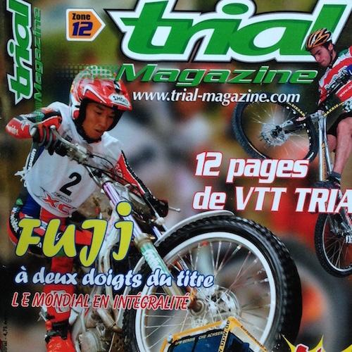 Sur la Couv de Trial Mag #12 !