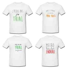 T-shirts TRIAL