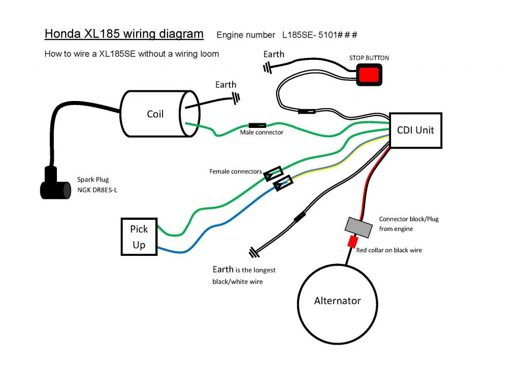 cdi wiring diagram   18 wiring diagram images