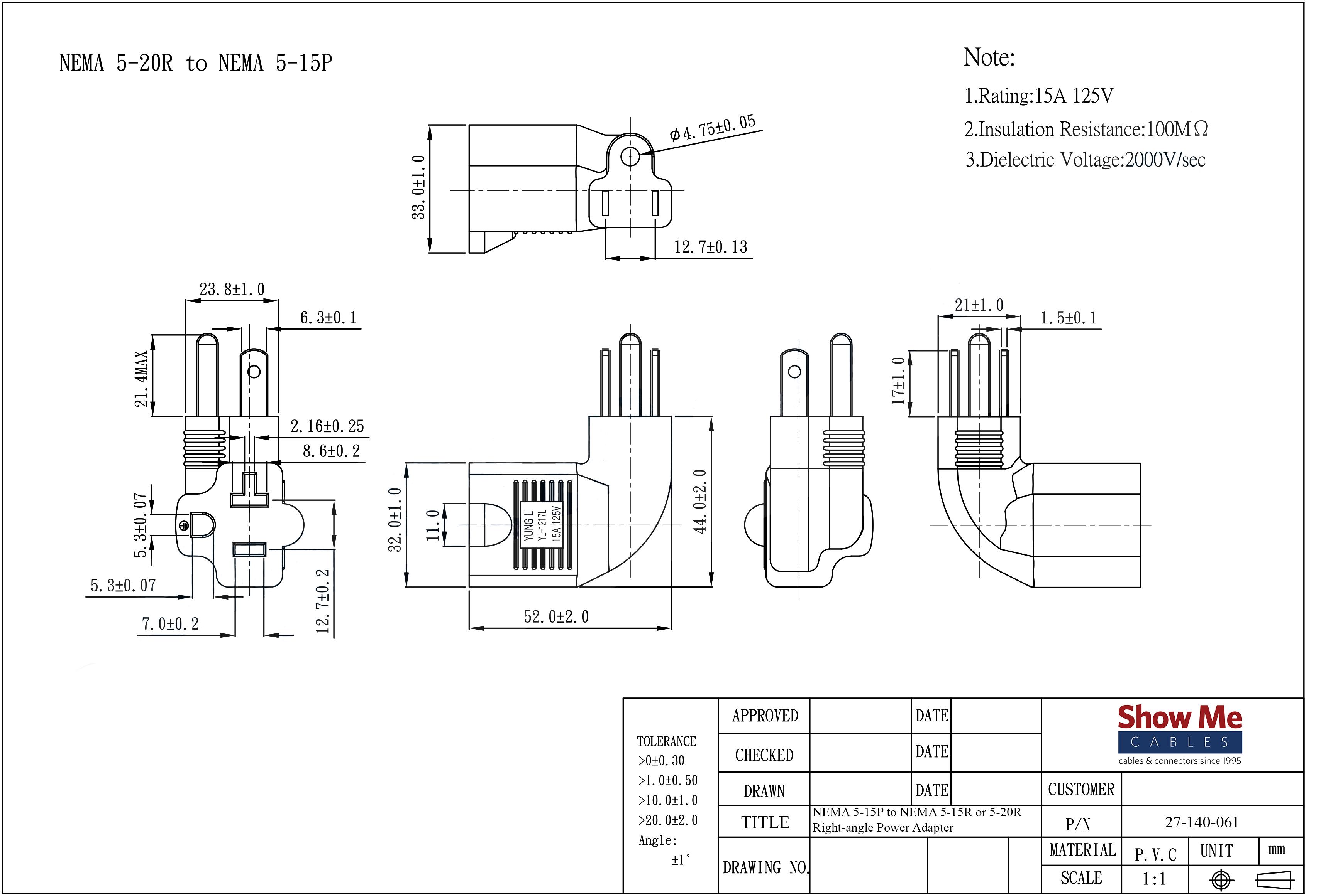 nema l5 20p wiring diagram