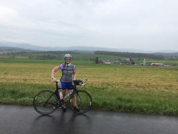 Cycling in the Blue Ridge Mountains - TriathLauren