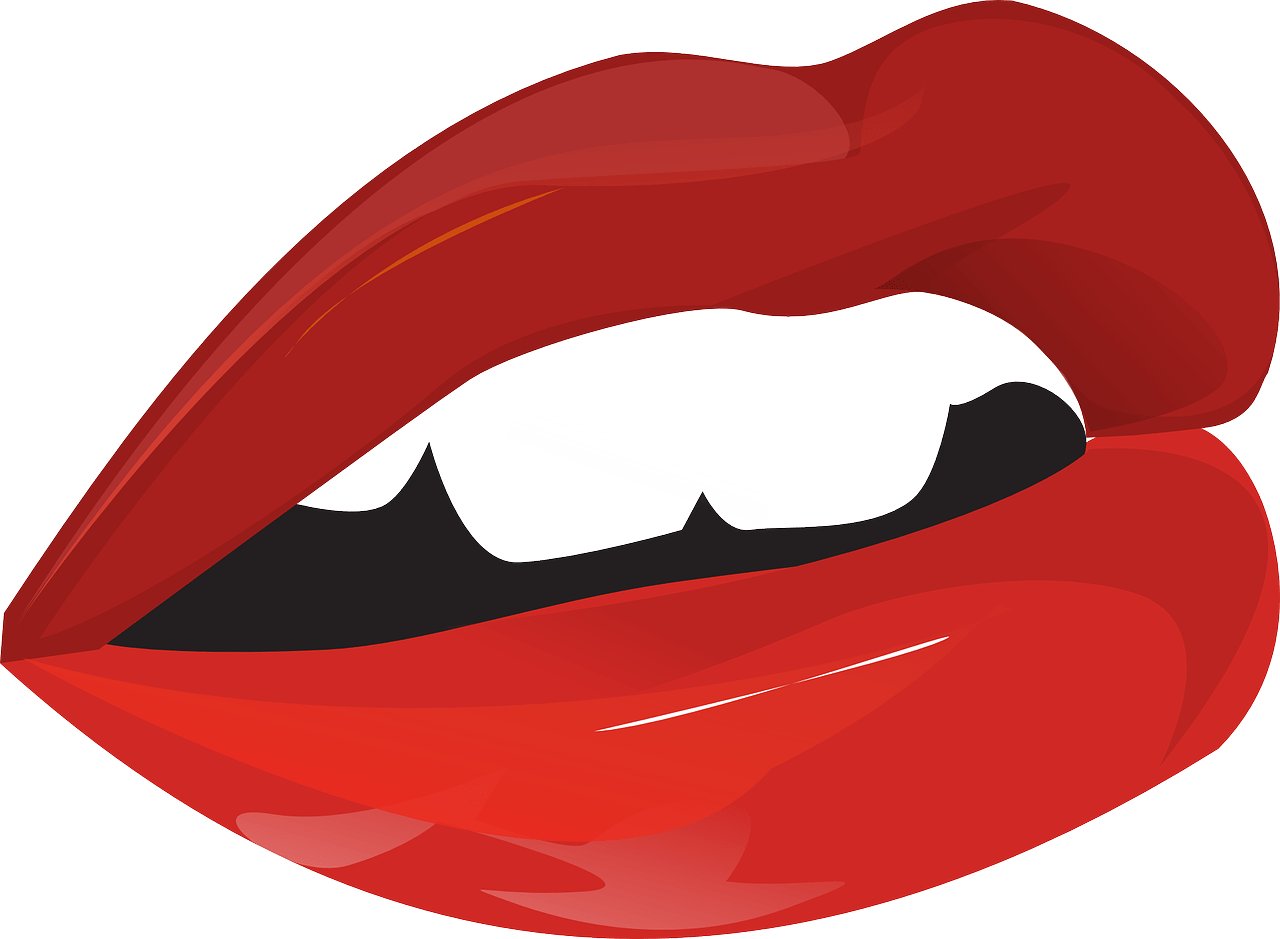 graphic of lips