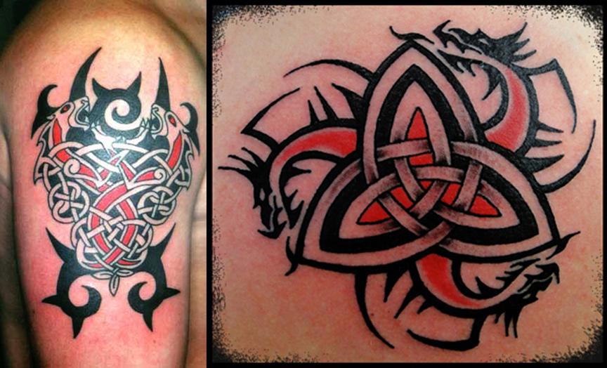 Viking Tribal Tattoo Designs